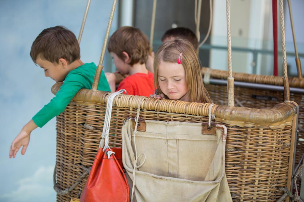 Kinderführung im Ballonmuseum mit Experimenten!