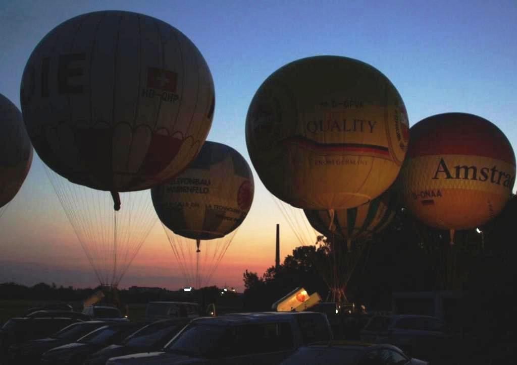 3. Internationaler Ballonmuseumscup mit dem Freiballonverein