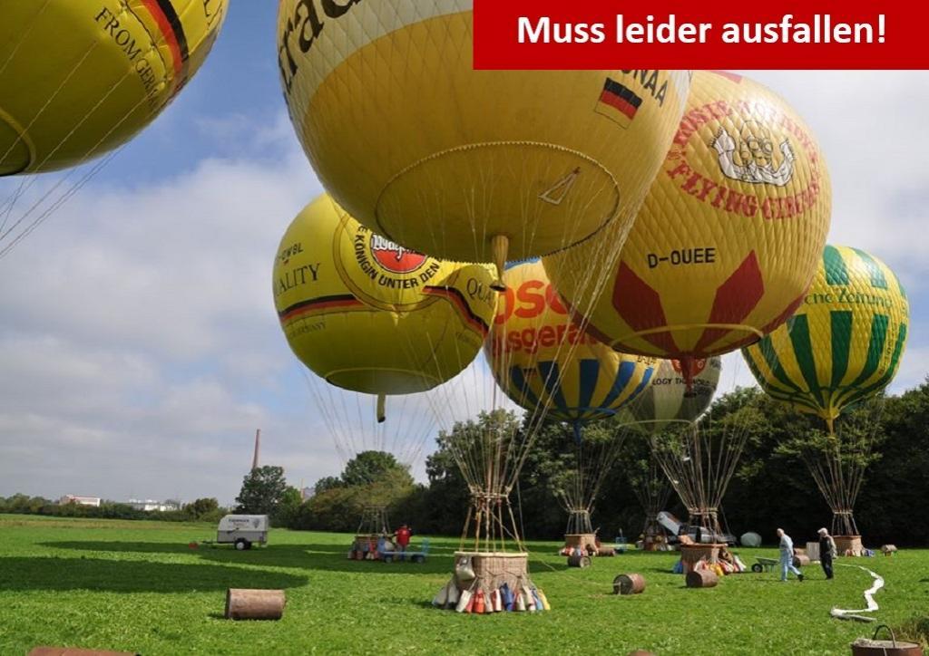 4. Internationer Ballonmuseumscup mit dem Freiballonverein Augsburg e.V.